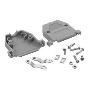 Cubierta de plástico (Concha) para conector DB25
