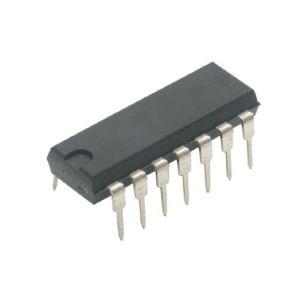 Circuito integrado TTL de 4 compuertas OR de 2 entradas cada una