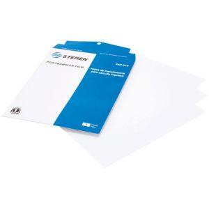 3 hojas de transferencia para circuitos impresos