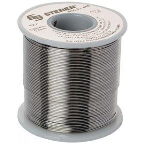 Rollo de 450 gramos de soldadura con aleación estaño/plomo (60/40)