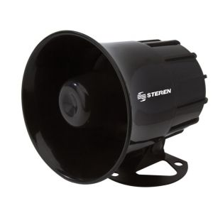 Sirena redonda de 50 Watts con 6 tonos