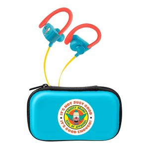 Audífonos Bluetooth* Sport Free con cable plano The Simpsons™