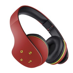 Audífonos Bluetooth* ultra confort color rojo