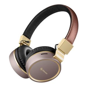 Audífonos Bluetooth* Vintage con reproductor MP3