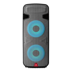 "Bafle doble de 15"" 6,000 W PMPO profesional Bluetooth* con luz LED"