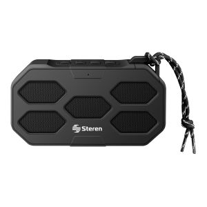 Mini bocina Bluetooth EightEdge con reproductor USB/microSD, AUX 3,5 mm y radio FM
