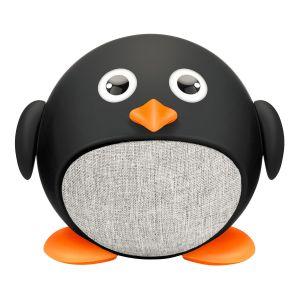 Mini bocina Bluetooth* con forma de pingüino
