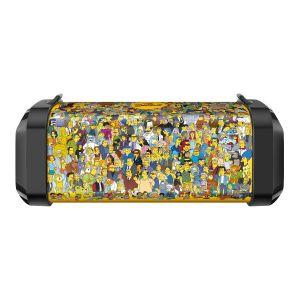 Bocina Bluetooth* mini bazooka con reproductor USB/microSD The Simpsons™