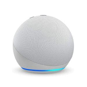 Bocina inteligente ECHO DOT 4ta Gen con Alexa*, blanca