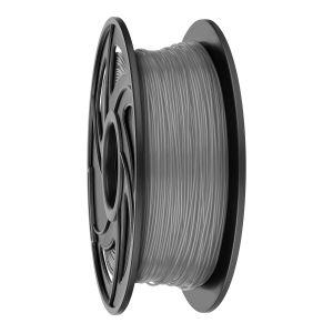 Filamento PLA para impresora 3D, gris