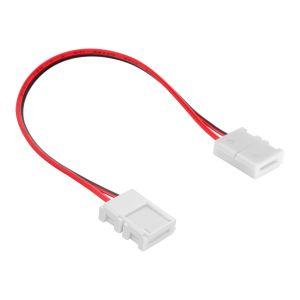 Cople con cable para tiras LED de un solo color