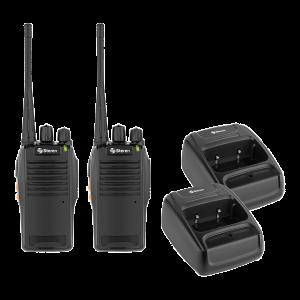 Kit de 2 radios intercomunicadores
