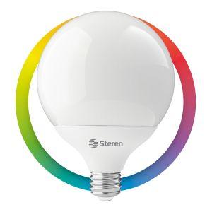 Foco LED Wi-Fi multicolor, 15 W