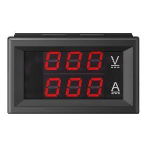 Voltímetro y amperímetro digital